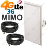 антенна MIMO 3G / 4G LTE, 17-18 дБ