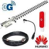 усиления Интернет 3G на дачу эконом (модем+антенна)