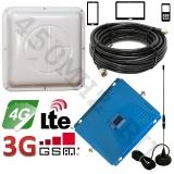 Комплект усиления GSM DCS 3G 4G LTE 900/1800/2100